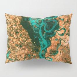 Meandering Mississippi Pillow Sham