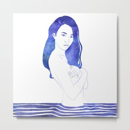 Water Nymph XI Metal Print
