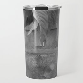 grave under leafs Travel Mug