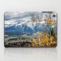 gore iPad Cases featuring Colorado Autumn by AwakeningLight