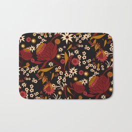 Australian Natives Red Blossom Bath Mat
