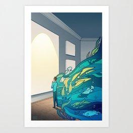 Deep Thoughts Art Print