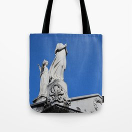 The Headless Guardian Tote Bag