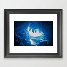 The Ice Castles Framed Art Print