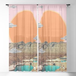They've arrived!  Sheer Curtain
