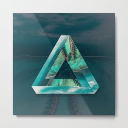 The Bermuda Triangle Metal Print