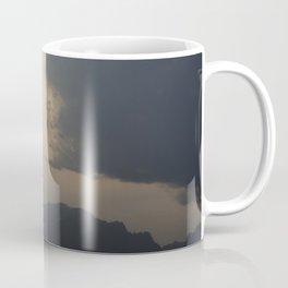 Sunset behind the Teton Mountains Coffee Mug