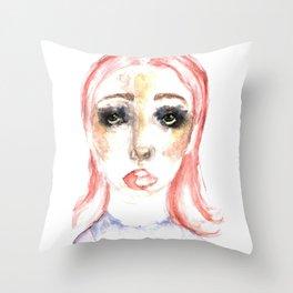 CLOWNISH. Throw Pillow