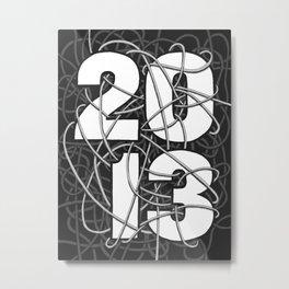 2013 Commemorative Poster Metal Print