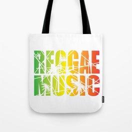 Reggae Music Tote Bag