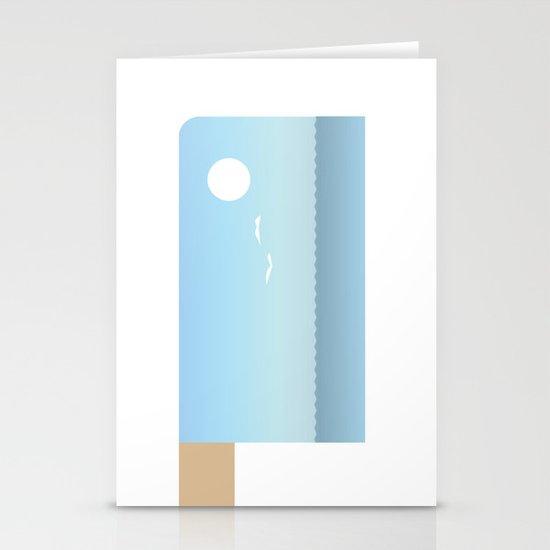Choppy Waves Stationery Cards