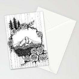 Rose City (B/W) Stationery Cards