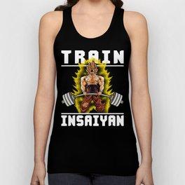 TRAIN INSAIYAN (Goku Deadlift) Unisex Tank Top