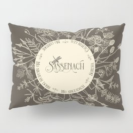 Dear Sassenach in Sepia Pillow Sham