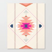 kilim Canvas Prints featuring Kilim Inspired by Nayla Smith