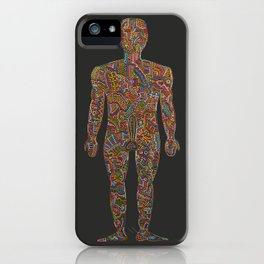 Homo Erectus (rebooted) iPhone Case