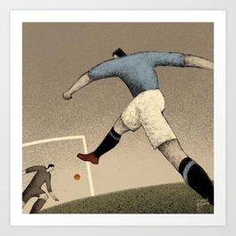 History of FIFA World Cup - Italy 1934 Art Print
