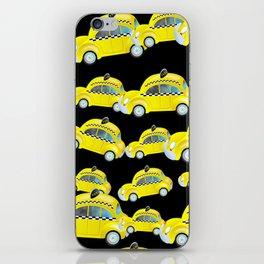 Yellow Taxi Cab iPhone Skin