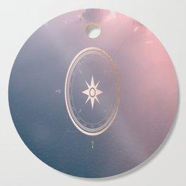 The Edge of Tomorrow - Rosegold Compass Cutting Board