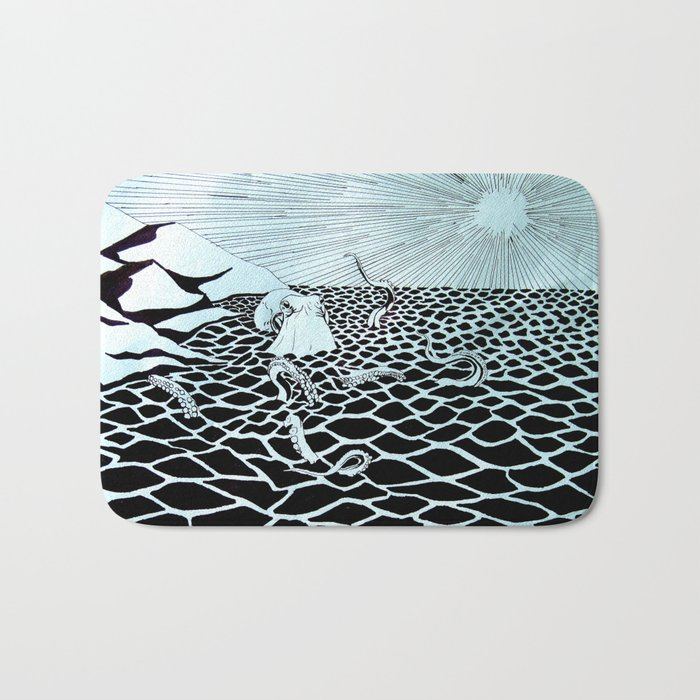 At the Mountains of Madness Bath Mat