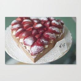 Sweetheart Pie Canvas Print