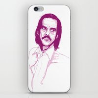 nick cave iPhone & iPod Skins featuring Nick Cave by 1and9