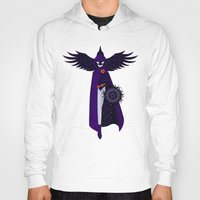 raven Hoodies featuring RAVEN by badOdds