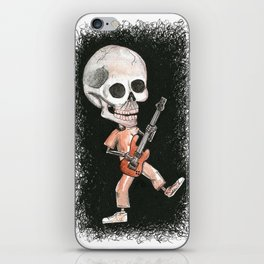Music Skully iPhone Skin