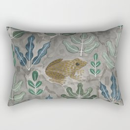 Save the frogs! Rectangular Pillow