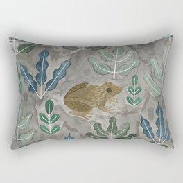 Save the frogs! Rectangular Pillow
