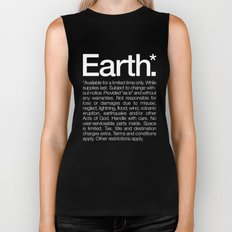 Earth.* Available for a limited time only. Biker Tank
