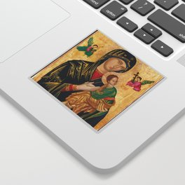 Our Mother of Perpetual Help Virgin Mary Sticker