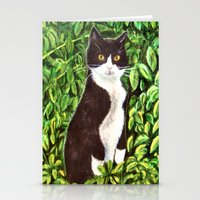 kitty Stationery Cards featuring Kitty by gretzky