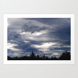Haines Sky Art Print