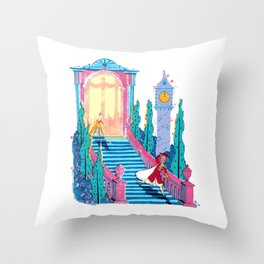 Cinderfella Throw Pillow