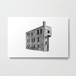 CANADIAN NATIONAL CONTROL STATION Metal Print
