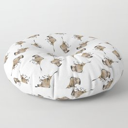 Wildebeest Floor Pillow