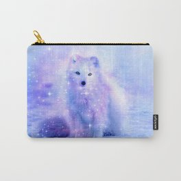 Arctic iceland fox Carry-All Pouch