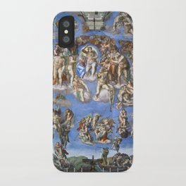 "Michelangelo ""Last Judgment"" iPhone Case"