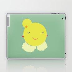miss sunshine with a collar Laptop & iPad Skin