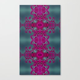 Pink lace Canvas Print