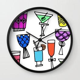party + bullsh*t Wall Clock