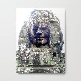 Faces Metal Print