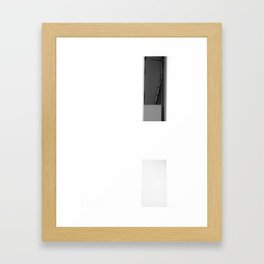 Half something, MACBA, Barcelona Framed Art Print