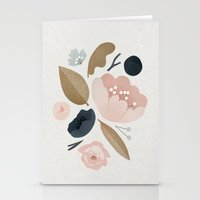 vintage flowers Stationery Cards featuring vintage flowers; by Pink Berry Patterns