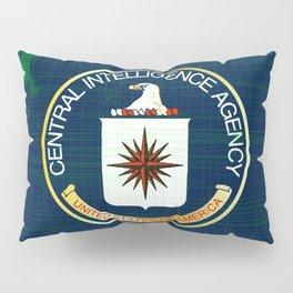 CIA Flag Grunge Pillow Sham