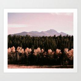 mountains : colorado Art Print