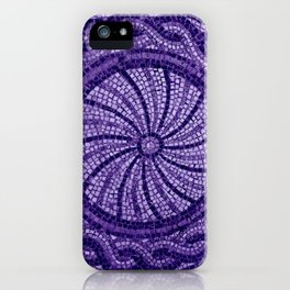 Ultra Violet Stone Tiles 18-3838 iPhone Case