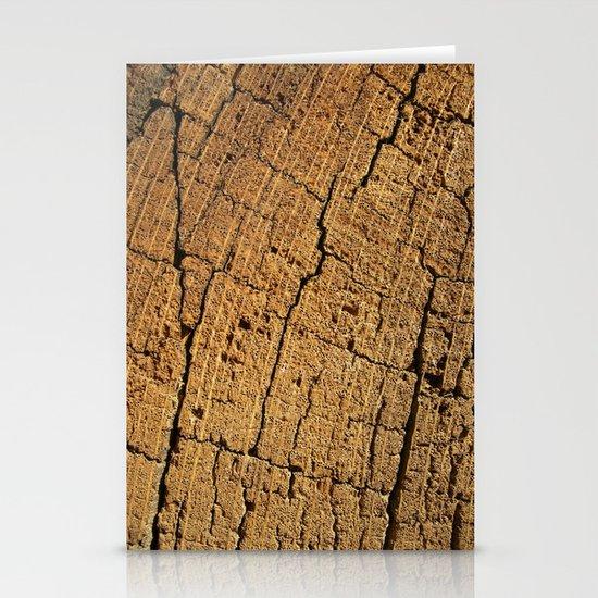 old oak wood I Stationery Cards