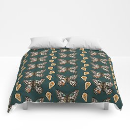 Mary's Butterfly Garden Comforters